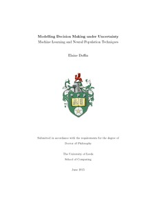 phd thesis decision making Thesis title: proactive computing in industrial maintenance decision making  abstract proactive event-driven computing refers to the use of event-driven.
