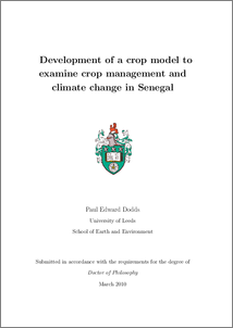 thesis climate change pdf