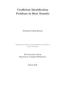 heat transfer thesis
