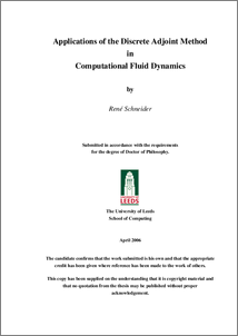 Applications of the Discrete Adjoint Method in Computational Fluid