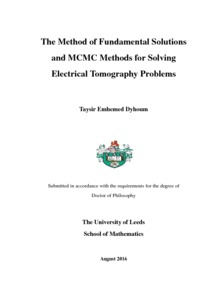 The Method of Fundamental Solutions and MCMC Methods for