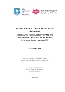 Risk and Reward in Classical Music Concert Attendance: Investigating