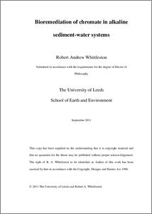 Bioremediation thesis pdf