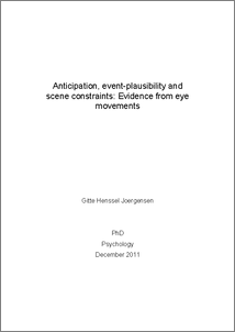 Phd thesis eye movement