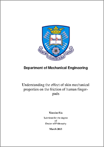 Mechanical engineering phd thesis