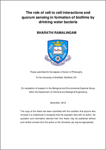 Phd thesis on anoxygenic photosynthetic bacteria