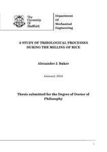 baker thesis machine