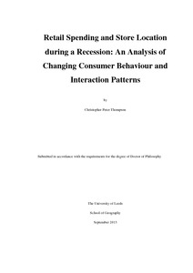 How do I select a good topic in consumer behavior to write a thesis