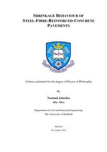 Phd thesis on concrete