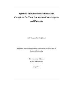 anti cancer phd thesis
