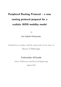 thesis on zone routing protocol Zone routing protocol (zrp) is the combination of both reactive and proactive routing protocols to make routing more scalable and efficient [23.