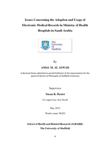 Evaluation of an electronic medical record system: zonguldak